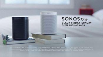 Mattress Firm Sleep-Giving Sale TV Spot, 'Turkey: Sonos One Smart Speaker'
