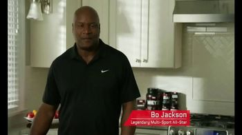 Force Factor Alpha King TV Spot, 'Just a Man' Featuring Bo Jackson - 150 commercial airings