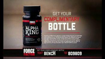 Force Factor Alpha King TV Spot, 'Just a Man' Featuring Bo Jackson - Thumbnail 10