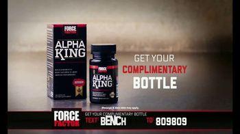 Force Factor Alpha King TV Spot, 'Just a Man' Featuring Bo Jackson - Thumbnail 6