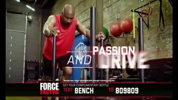 Force Factor Alpha King TV Spot, 'Just a Man' Featuring Bo Jackson - Thumbnail 8