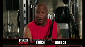 Force Factor Alpha King TV Spot, 'Just a Man' Featuring Bo Jackson - Thumbnail 9