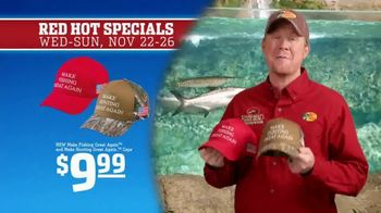 Bass Pro Shops 5 Day Sale TV Spot, 'Red Hot: Hunting and Fishing Caps' - Thumbnail 5