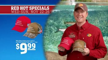 Bass Pro Shops 5 Day Sale TV Spot, 'Red Hot: Hunting and Fishing Caps' - Thumbnail 7