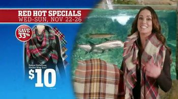 Bass Pro Shops 5 Day Sale TV Spot, 'Red Hot: Blanket-Wrap Scarves' - Thumbnail 4