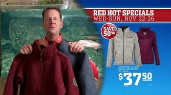 Bass Pro Shops 5 Day Sale TV Spot, 'Red Hot: Blanket-Wrap Scarves' - Thumbnail 7