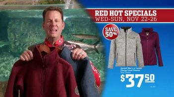 Bass Pro Shops 5 Day Sale TV Spot, 'Red Hot: Blanket-Wrap Scarves' - Thumbnail 8