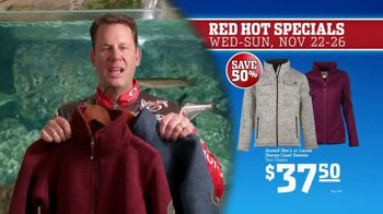 Bass Pro Shops 5 Day Sale TV Spot, 'Red Hot: Blanket-Wrap Scarves' - Thumbnail 9