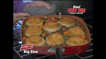 Red Copper Big Time Pan TV Spot, 'Bigger is Better' - Thumbnail 6