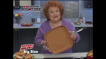 Red Copper Big Time Pan TV Spot, 'Bigger is Better' - Thumbnail 8