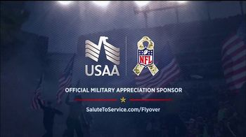 USAA TV Spot, 'Salute to Service: Military Flyover' - Thumbnail 9