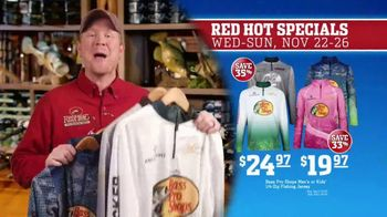 Bass Pro Shops 5 Day Sale TV Spot, 'Red Hot: Shirts and Fishing Jerseys' - Thumbnail 6