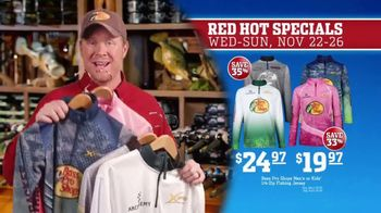 Bass Pro Shops 5 Day Sale TV Spot, 'Red Hot: Shirts and Fishing Jerseys' - Thumbnail 7