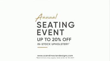 Scandinavian Designs Annual Seating Event TV Spot, 'Treat Yourself' - Thumbnail 2