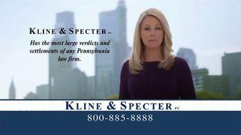 Kline & Specter TV Spot, 'Medical Doctors'