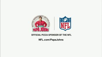 Papa John's TV Spot, 'NFL: Better Ingredients of the Week: Texans' - Thumbnail 10