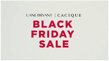 Lane Bryant Black Friday Sale TV Spot, 'Cacique: Daily Doorbusters'