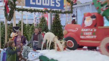Lowe's Black Friday Deals TV Spot, 'Snowman: Artificial Trees' - Thumbnail 5