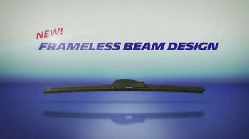 Michelin Wiper Blades TV Spot, 'Frameless Beam Design' - Thumbnail 4