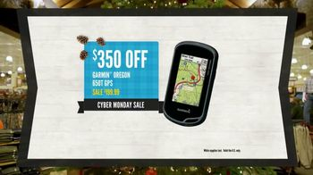 Cabela's Cyber Monday Sale TV Spot, 'GPS, Hoodies and Reel' - Thumbnail 4