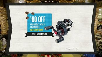 Cabela's Cyber Monday Sale TV Spot, 'GPS, Hoodies and Reel'