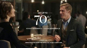 JoS. A. Bank Up to 70 Percent Off Sale TV Spot, 'Dress Shirts and Sweaters' - Thumbnail 9