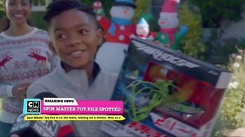 Cartoon Network Spin Master Holiday Toy Sweepstakes TV Spot, 'Toy Pile' - Thumbnail 2