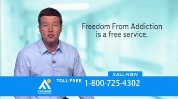 Freedom From Addiction TV Spot, 'Drugs and Alcohol' - Thumbnail 6