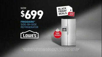 Lowe's Black Friday Deals TV Spot, 'The Moment: Frigidaire' - Thumbnail 8
