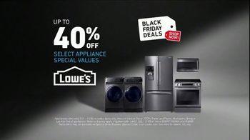 Lowe's Black Friday Deals TV Spot, 'The Moment: Frigidaire' - Thumbnail 7