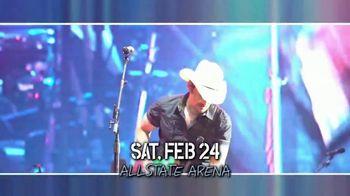 Brad Paisley TV Spot, 'Weekend Warrior World Tour: Allstate Arena'