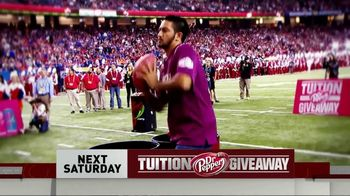 CBS TV Spot, 'Dr Pepper Tuition Giveaway' - Thumbnail 3
