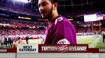 CBS TV Spot, 'Dr Pepper Tuition Giveaway' - Thumbnail 6