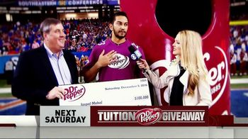 CBS TV Spot, 'Dr Pepper Tuition Giveaway' - Thumbnail 7