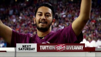 CBS TV Spot, 'Dr Pepper Tuition Giveaway' - Thumbnail 8