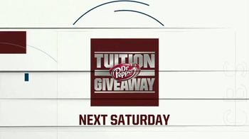 CBS TV Spot, 'Dr Pepper Tuition Giveaway' - Thumbnail 9
