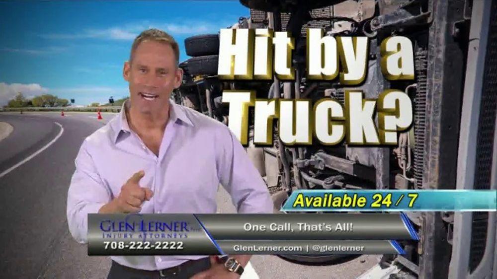 glen lerner tv commercial hit by a truck ispottv