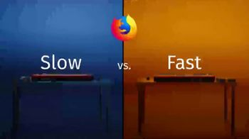 Firefox TV Spot, 'Slow v. Fast' Featuring Reggie Watts
