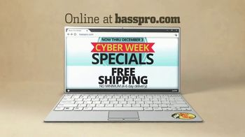 Bass Pro Shops Holiday Sale TV Spot, 'Cyber Week: Hats, Flannel and Reels' - Thumbnail 10