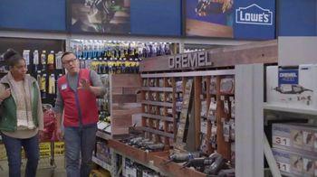 Lowe's Black Friday Deals TV Spot, 'Gift-Giver: Dewalt Drill' - Thumbnail 7