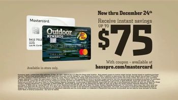 Bass Pro Shops TV Spot, '2017 Christmas: Mastercard and Rewards Points'