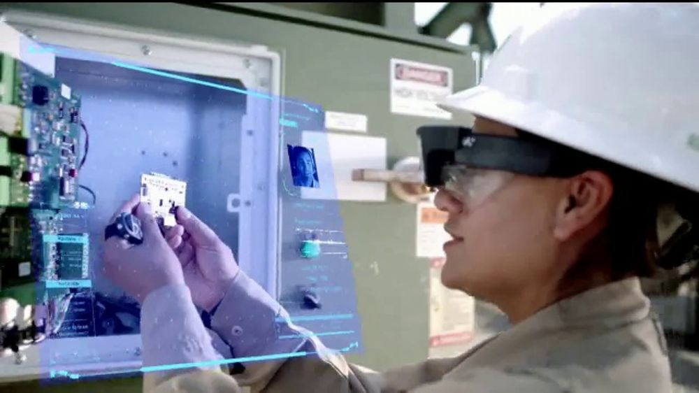 BP TV Commercial, 'Safety: Augmented Reality Smart Glasses'