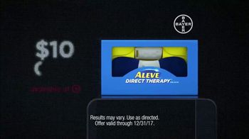 Aleve Direct Therapy TV Spot, 'Back Pain Relief' - Thumbnail 7