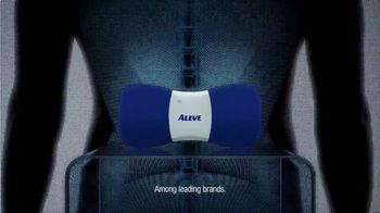 Aleve Direct Therapy TV Spot, 'Back Pain Relief' - Thumbnail 4