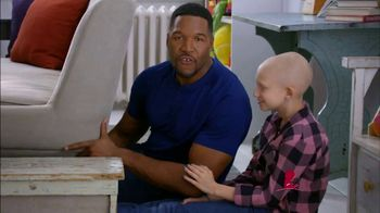 St. Jude Children's Research Hospital TV Spot, 'Join Michael Strahan' - 328 commercial airings
