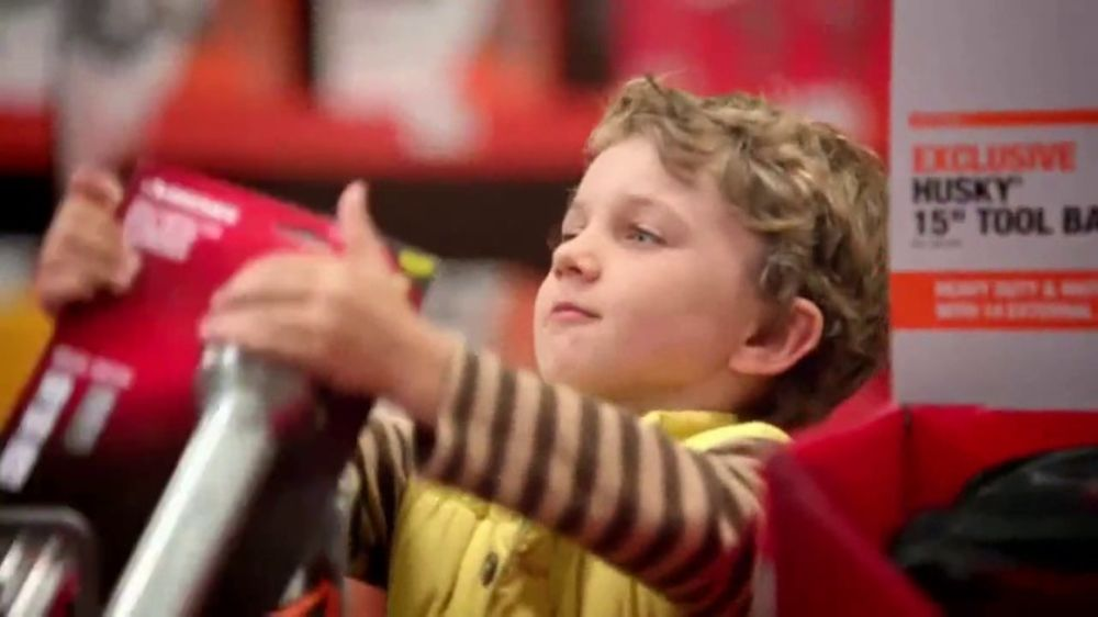 The Home Depot TV Commercial, 'Give Santa Some Serious Competition'