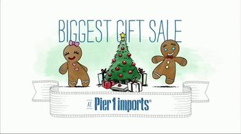 Pier 1 Imports Biggest Gift Sale Ever TV Spot, 'Gifts That Wow' - Thumbnail 1