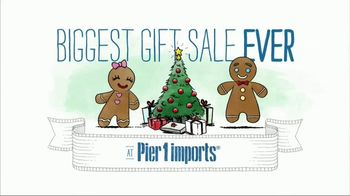 Pier 1 Imports Biggest Gift Sale Ever TV Spot, 'Gifts That Wow' - Thumbnail 2