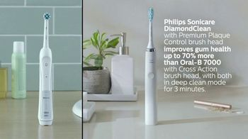 Sonicare DiamondClean TV Spot, 'Exceptionally Fresh Feeling: Coupon' - Thumbnail 6