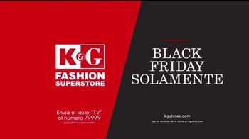K&G Fashion Superstore Rebaja Black Friday TV Spot, 'Trajes' [Spanish] - Thumbnail 8